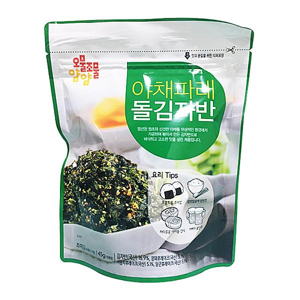 오물조물얌얌 야채파래 돌김자반 40g