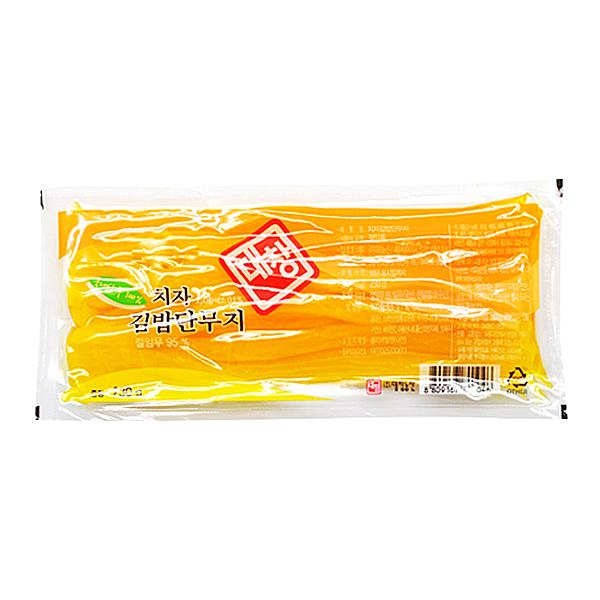 대창농산 치자 김밥단무지 230g X 20EA_1BOX