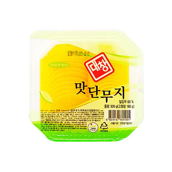 대창농산 맛단무지 300g X 18EA_1BOX