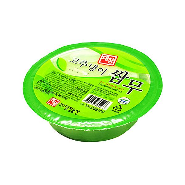 대창농산 고추냉이 쌈무 350g