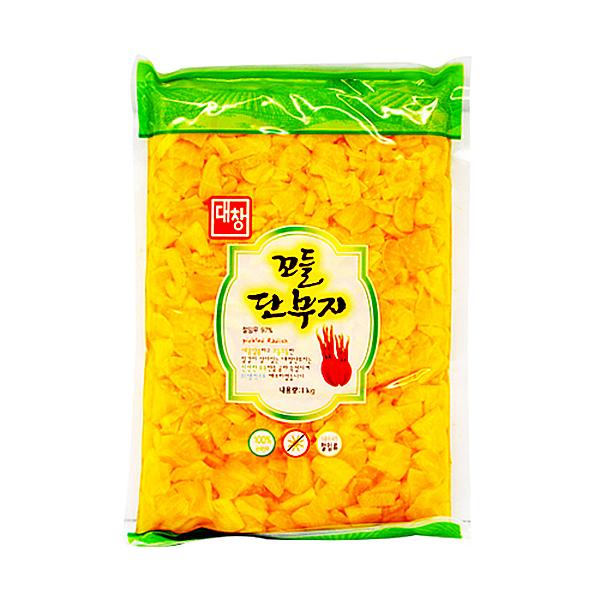 대창농산 꼬들단무지 1kg X 10EA_1BOX