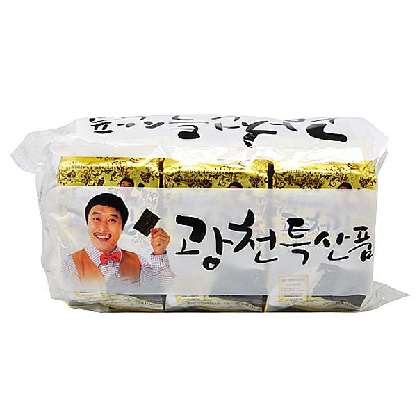 광천김 조미김 식탁김 4g x 9봉 X 10EA_1BOX