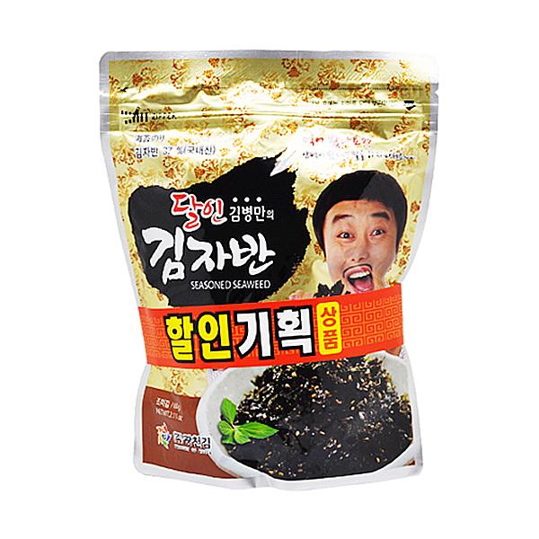 광천김 달인김병만의 김자반 60g+60g X 10EA_1BOX