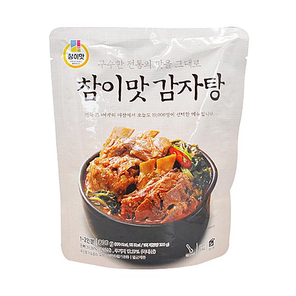 CK푸드원 참이맛 감자탕 800g 1_2인분