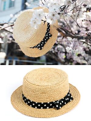 도트 밀집 모자