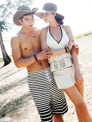 입기 좋은 캉캉 수영복-커플