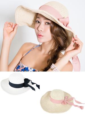 사랑스러운 리본 모자