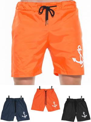 밀키 닻 수영복-오렌지