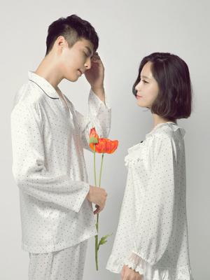 몽쉐리 긴소매 상하-커플