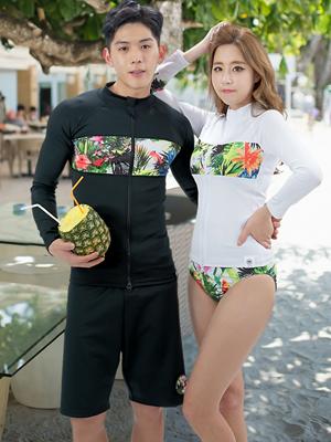 트로피컬 드림 래쉬가드-커플
