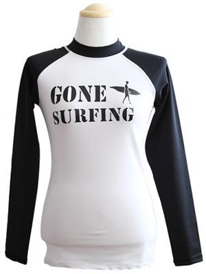GONE SURFING 래쉬가드-여자