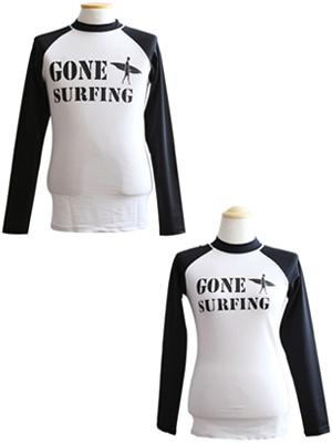 GONE SURFING 래쉬가드-커플