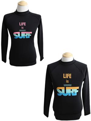 LIFE IS SURF 래쉬가드-커플