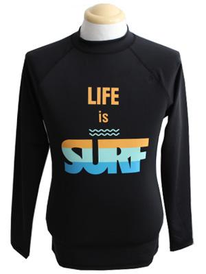 LIFE IS SURF 래쉬가드-남자