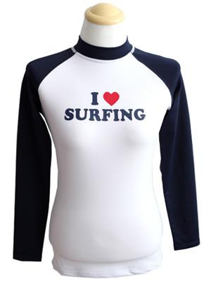 알럽 서핑 래쉬가드