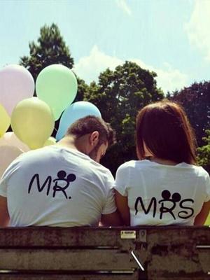 MR&MRS 반팔티-커플