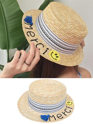 메르시 밀짚 모자