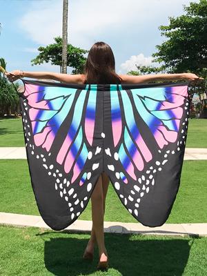 나비의 꿈 랩원피스 커버업