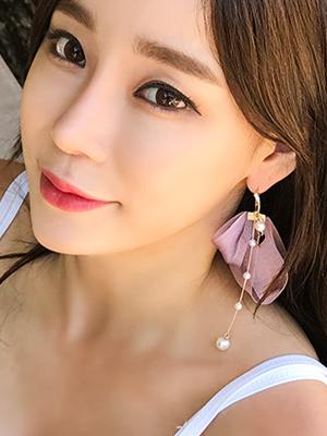 바이올렛 귀걸이