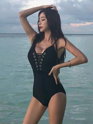 미란다 아일렛 모노키니 비키니
