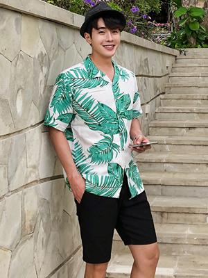 브리트 하와이안 셔츠