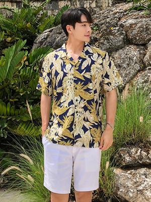 로빈 하와이안 셔츠