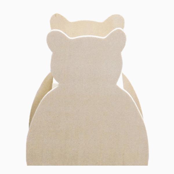 [대원] 나무저금통-곰 / DW1568