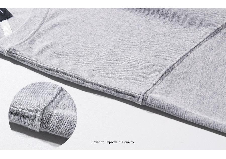 모더먼트 Universal Half-tee(gray)
