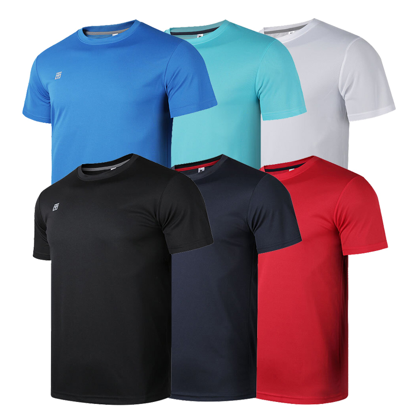 [Mooto] Cool Round T-shirts _Black/Navy/Red/White/Mint/Blue