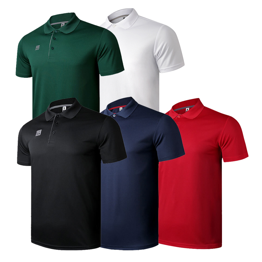 [Mooto] Cool Ceramic PK T-shirts_Black/Navy/Red/White/Dark Green