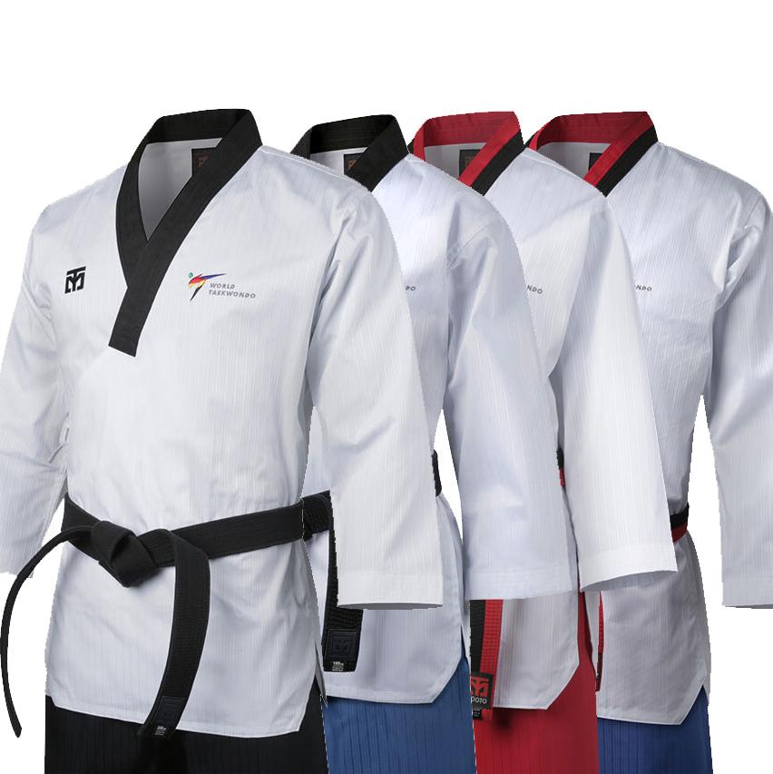 [Mooto] WT Poomsae Uniform Taebek_Black Neck/Poom Neck