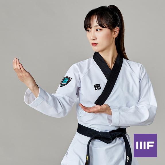 [무토] 3F 2 여성용 도복_스노우 화이트