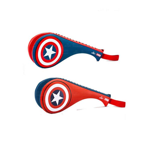 [DAEDO]대도 마블 캡틴아메리카 소형 더블 미트 40cmX16cm_레드/블루