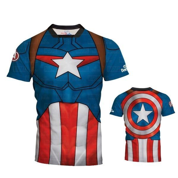 [Dae do]대도 캡틴 아메리카 반팔 티셔츠
