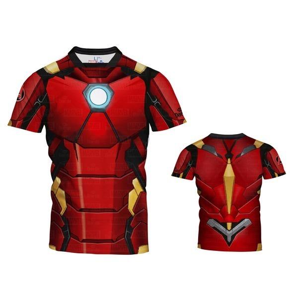 [DAEDO]대도 아이언맨 반팔 티셔츠