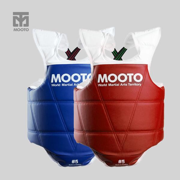 [무토] MOOTO 단면호구 2개세트_블루+레드