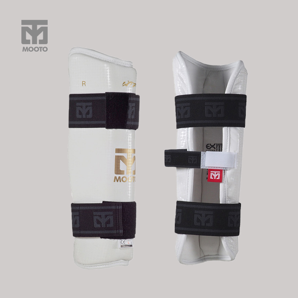 [무토]EXTERA 다리보호대(PU)화이트/블랙