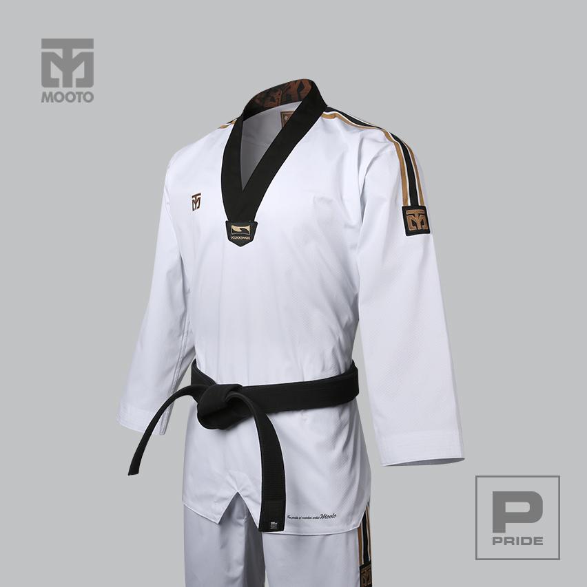 [무토] 프라이드 3 도복(검정깃)