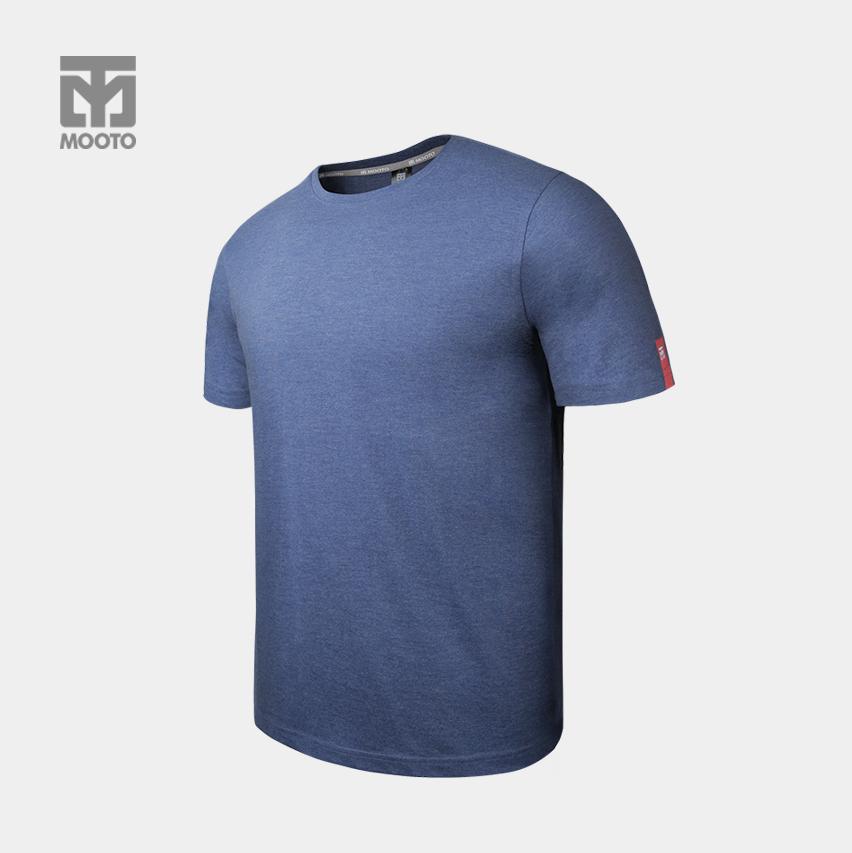 [반바지 선택가능] 스타일 라운드 티셔츠_네이비