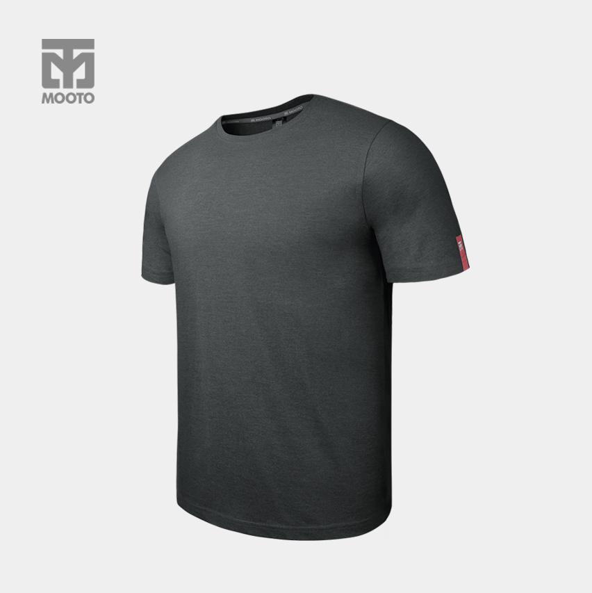 [반바지 선택가능] 스타일 라운드 티셔츠_다크그레이