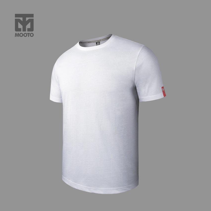 [반바지 선택가능] 스타일 라운드 티셔츠_화이트