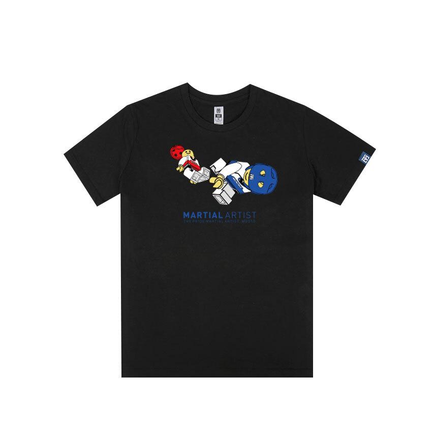[무토]레고 킥 티셔츠_블랙