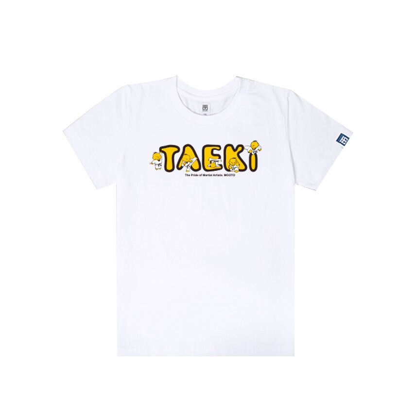 [무토]태기 로고 티셔츠_화이트
