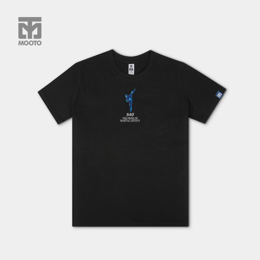[무토] 540하이킥 반팔 면티셔츠_블랙
