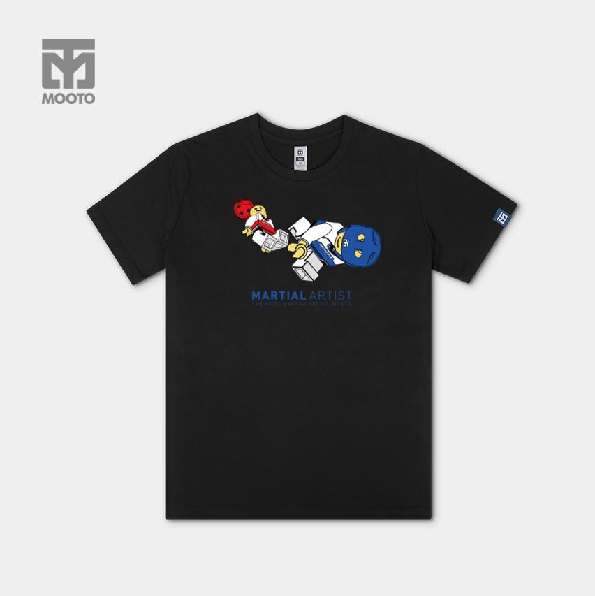 [무토]레고킥 티셔츠/블랙