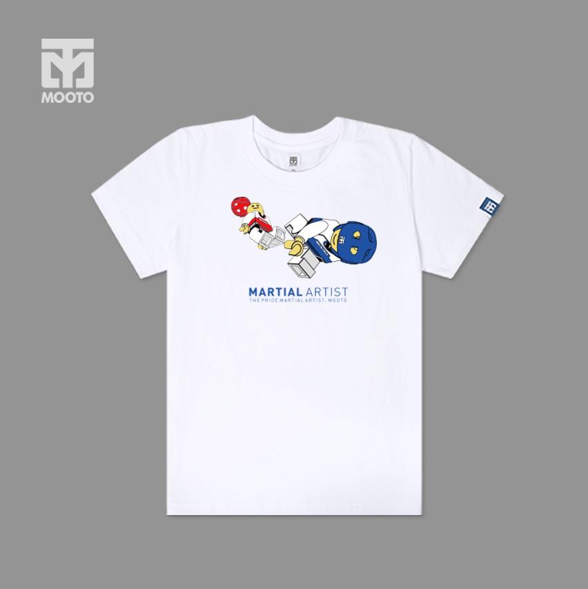 [무토]레고킥 티셔츠/화이트