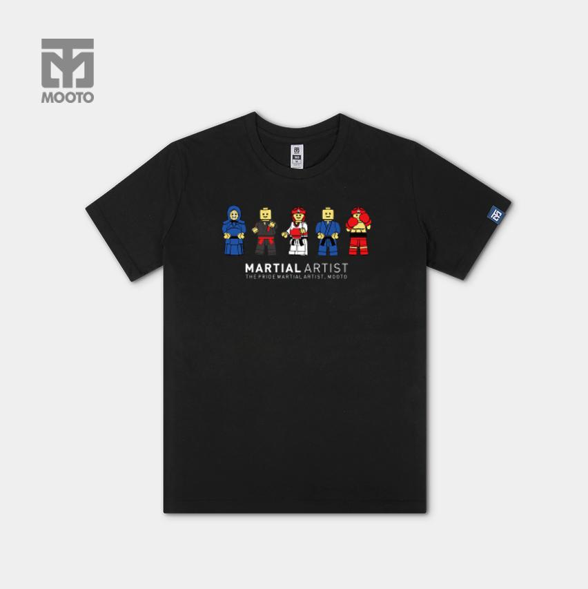 [무토] 레고 마샬아츠 티셔츠 블랙