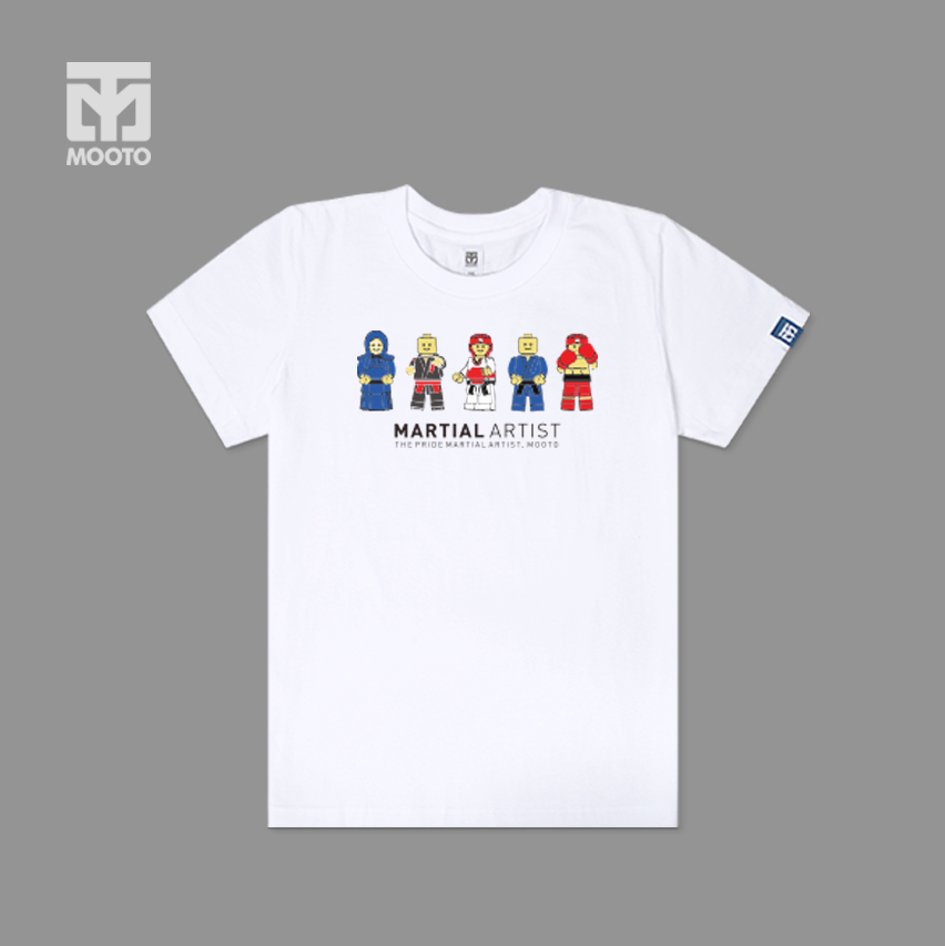 [무토]레고 마샬아츠 티셔츠/화이트