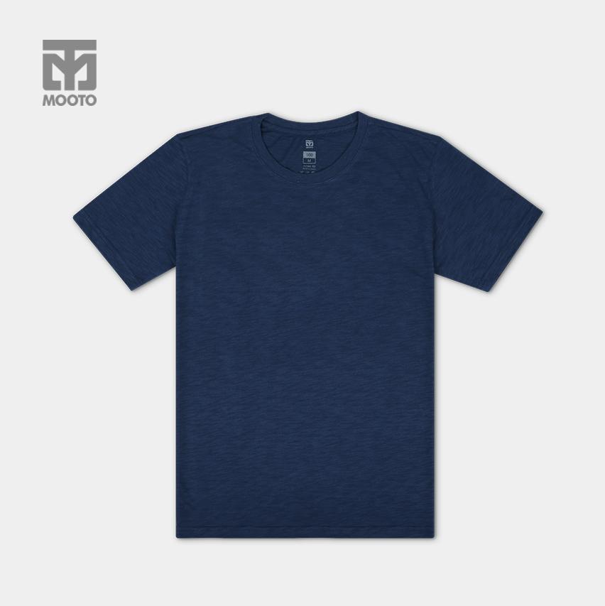 [무토]슬럽무지티셔츠/네이비