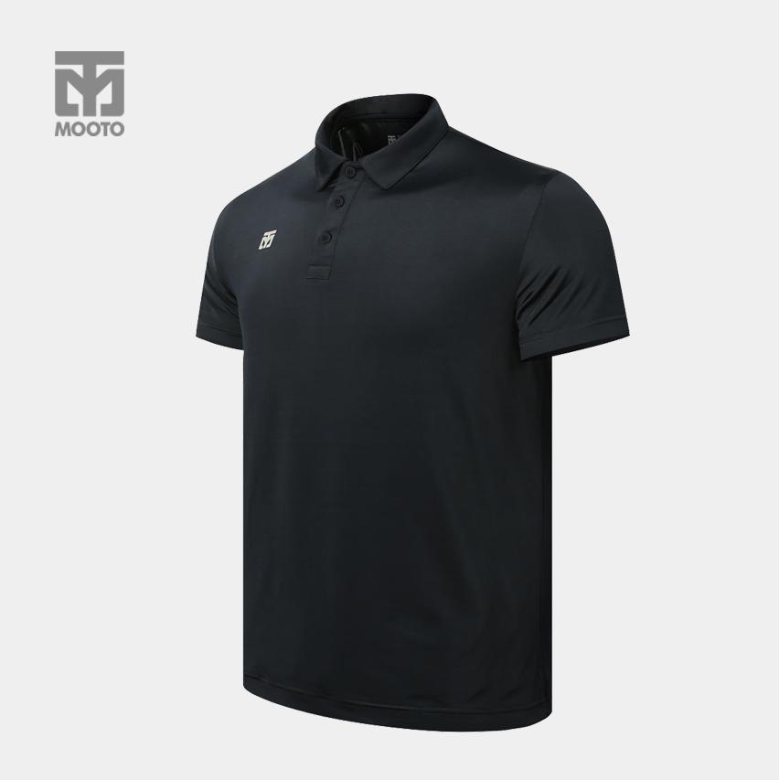 [무토] 퍼포먼스 PK 반팔 티셔츠_블랙